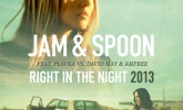 "Out Now: Jam & Spoon vs. David May & Amfree ""Right In The Night"""